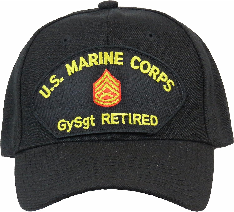 USMC GUNNERY SARGEANT RETIRED Cap
