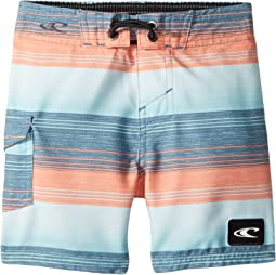 O'Neill Kids - Santa Cruz Stripe Boardshorts (Toddler/Little Kids)