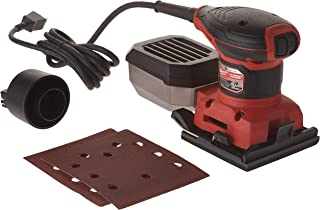 Milwaukee 6033-21 3 Amp 1/4 Sheet Orbital 14,000 OBM Compact Palm Sander with Dust Canister (2 Sheets of Sandpaper Included)