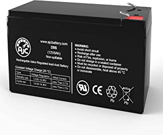 Leoch LPX12-9.0 12V 9Ah Sealed Lead Acid Battery - This is an AJC Brand Replacement