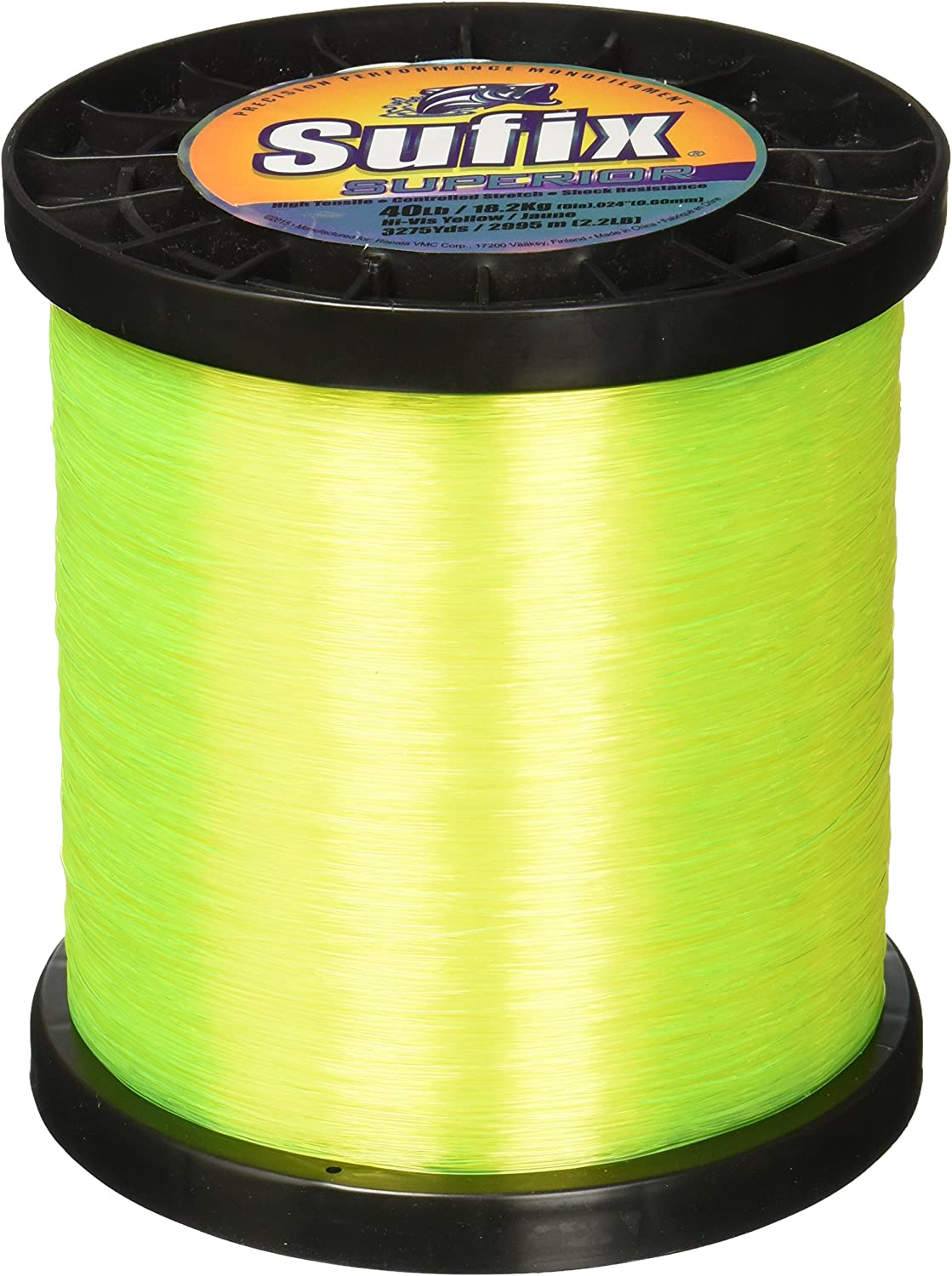 price Sufix Superior Spool Size 40-Pound Fishing Max 68% OFF Yellow Line
