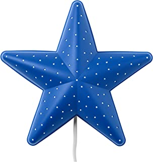 Ikea SMILA STJÄRNA Star Wall Lamp, blue
