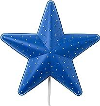 Ikea SMILA STJÄRNA Star Wall Lamp, blue
