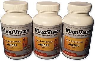 MedOp MaxiVision® Eye & Body Formula - 90 Capsules, 3 Bottles
