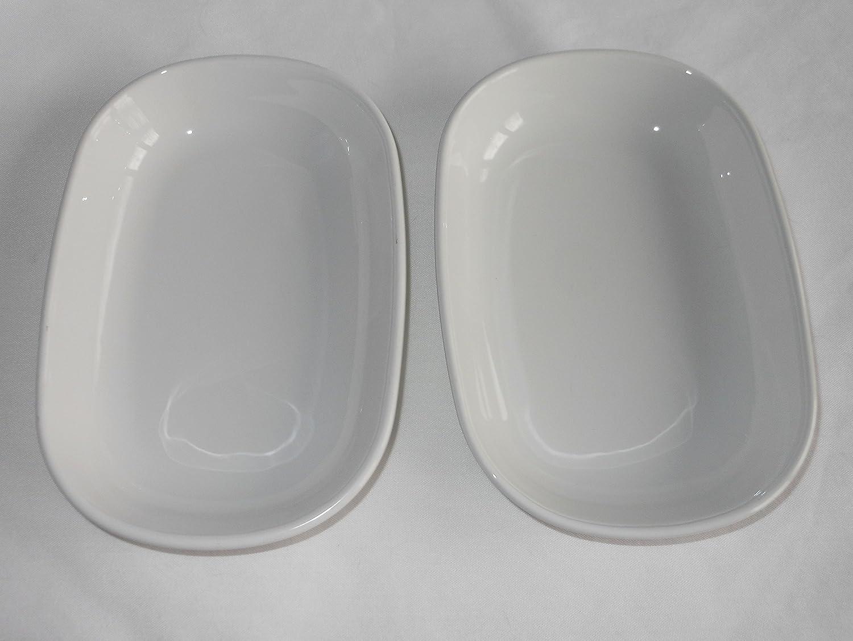 Vintage Corning Ware All White Long Beach Mall Dish Plate SIDEKICK P140B Baking Superior