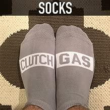 Clutch Gas Socks (Gray) by Boostnatics