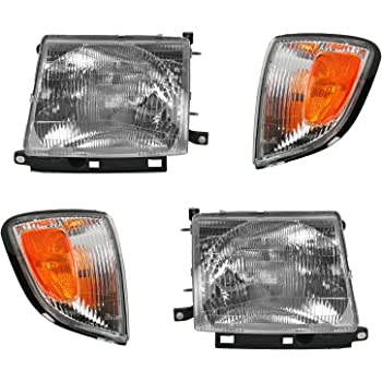 HEADLIGHTSDEPOT Park Signal Side Marker Light Driver Left Compatible with 1997-2000 Toyota Tacoma Pickup 2WD