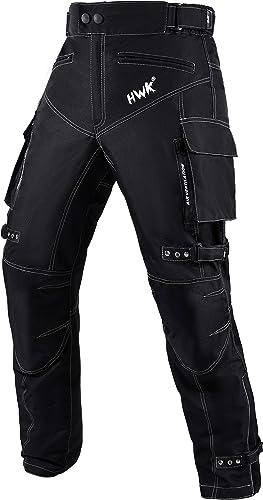 Motorcycle Pants for Men Dualsport Motocross Motorbike Pant Riding Overpants Enduro Adventure Touring Waterproof CE A...