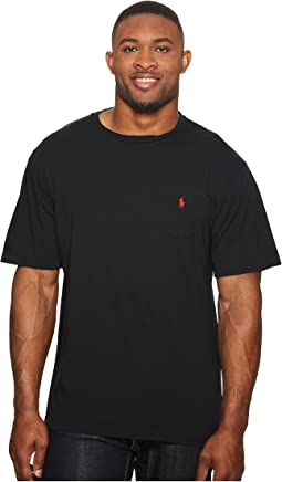 Polo Ralph Lauren Big and Tall Classic Fit Crew Neck Pocket T-Shirt