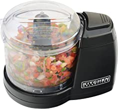 Kitchen Selectives MC-6BL Kitchen Selectives Mini Chopper, Black