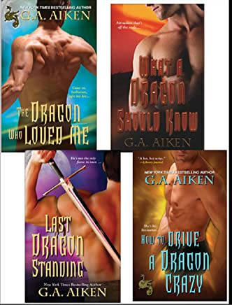 G.A. Aiken Dragon Bundle: The Dragon Who Loved Me, What a Dragon Should Know, Last Dragon Standing & How to Drive a Dragon Crazy (Dragon Kin)