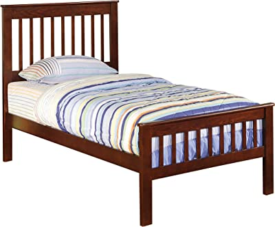 Coaster Home Furnishings Parker Slat Panel Chestnut Youth Twin Bed