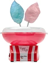 The Candery Cotton Candy Machine - Bright, Colorful Style- Makes Hard Candy, Sugar Free Candy, Sugar Floss, Homemade Sweet...
