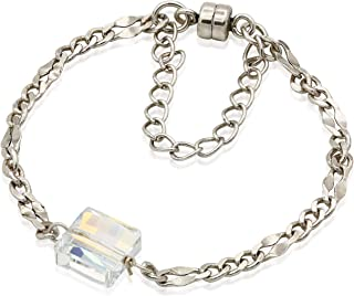Alex and Ani Crystal Glacier Magnetic Bracelet