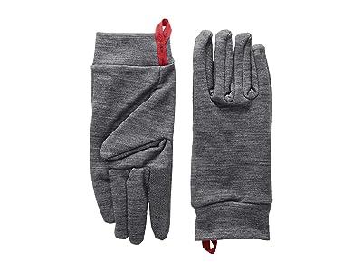 Hestra Touch Point Warmth Five Finger (Grey) Ski Gloves