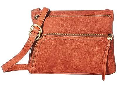 Hobo Cassie (Cinnabar) Cross Body Handbags