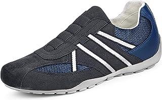 Geox Uomo Sneaker, Scarpe Sportive U RAVEX, Uomini Slipon,Sottopiede Removibile
