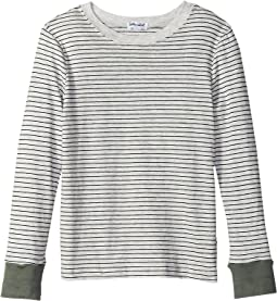 Always Washed Yarn-Dyed Long Sleeve T-Shirt (Little Kids/Big Kids)