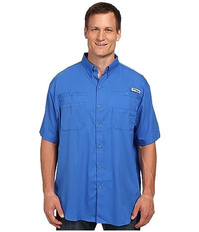 Columbia Big Tall Tamiami II S/S (Vivid Blue) Men