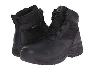 Timberland PRO 6 Valortm Duty Soft Toe Waterproof (Black) Men