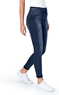 Marchio Amazon - find. Jeans Skinny Vita Regular Donna