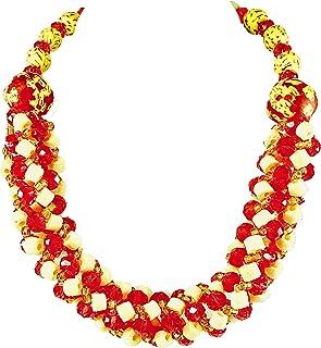 Sophia Dor Amina Glass Bead Necklace Bracelet and Earrings Set