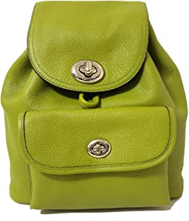 Womens Mini Turnlock Tie Rucksack