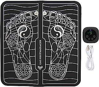 LZKW Masajeador de pies, Estera Plegable del masajeador de pies por USB, Estera de Masaje para Hombres