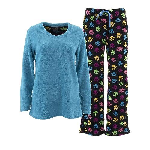 c508a3c08ccb Donna L'oren Women's Coral Fleece Pajamas