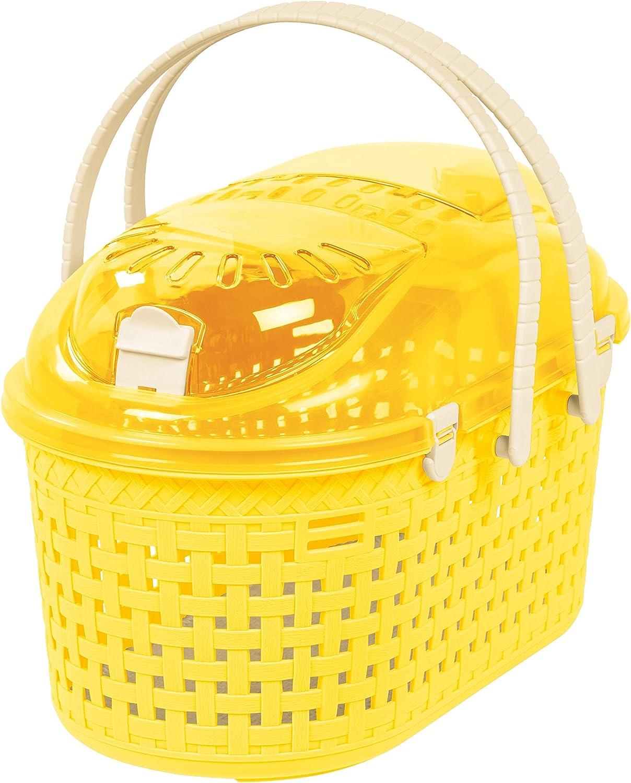 IRIS Small Animal Carrier, Yellow