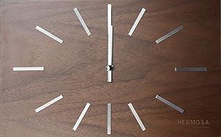 ハモサ HERMOSA 置時計 壁掛け時計 NA-001WAL ラブレア クロック ウォールナット