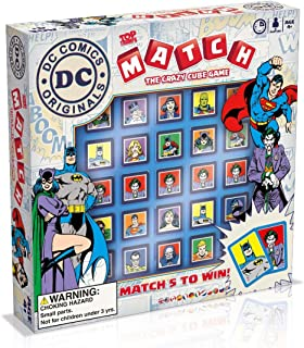 DC Superheroes Top Trumps Match Board Game