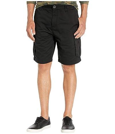 Volcom Bevel 20 Cargo Shorts (Black) Men