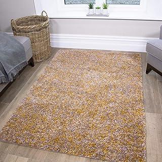 Mostaza ocre gris Gris Tamaño Pequeño Grande Extra Grande Suelo Alfombras alfombras esteras Barato