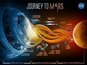 EzPosterPrints - NASA Journey to Mars Poster - Amazing NASA Art Print for School, Kids Room,Home Office Décor - 18 X 24 inches