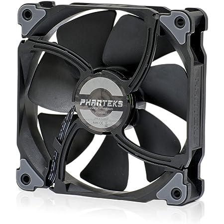 Phanteks PH-F120MP_BBK_PWM, 500- 1800RPM, Frame/Blades 120mm, Radiator Fan, Black Black/Black
