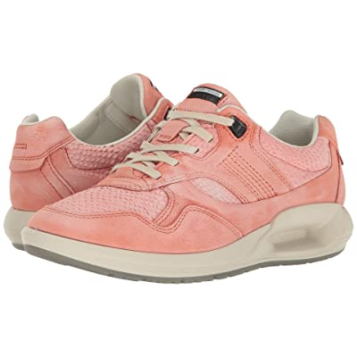 ECCO CS16 Sneaker (Coral Blush/Coral Cow Nubuck) Women