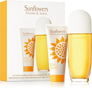 Elizabeth Arden Sunflowers for Women Edt 100ml + 100ml Body Lotion Set