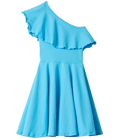 fiveloaves twofish Zoe Dress (Big Kids) (Aqua) Girl