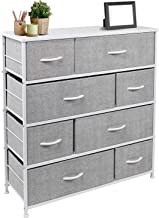 Sorbus Dresser with 8 Drawers - Furniture Storage Chest Tower Unit for Bedroom, Hallway, Closet, Office Organization - Ste...