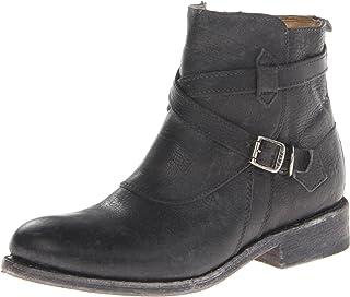 حذاء حريمي من FRYE بشريط متقاطع من Jayden لرياضة الدراجات النارية، أسود، 8 M US
