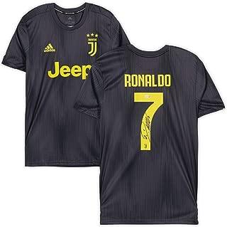 Cristiano Ronaldo Juventus F.C. Autographed 2018-2019 Black Adidas Replica Jersey - Fanatics Authentic Certified
