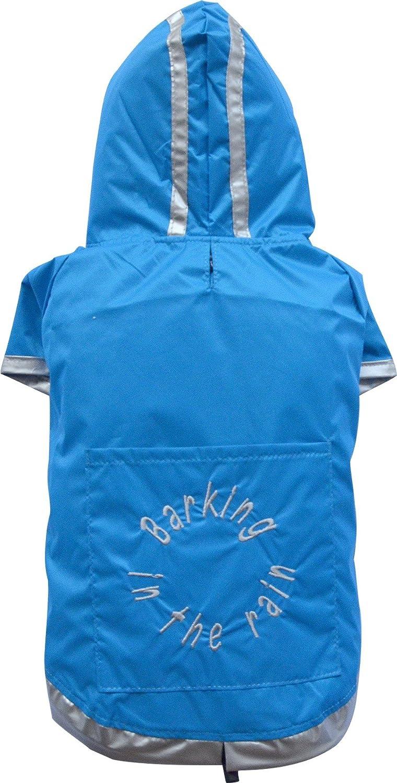 DoggyDolly Authentic Classic Rain Coat, XXSmall, bluee