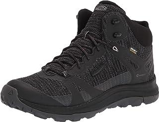 KEEN Women's Terradora 2 Waterproof Mid Height Hiking Boot, Black/Magnet, 10 M (Medium) US