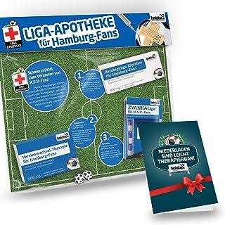 Geschenk-Set: Die Liga-Apotheke für HSV-Fans   3X süße Schmerzmittel für Hamburg Fans   Die besten Fanartikel der Liga, Besser als Trikot, Home Away, Saison 18/19 Jersey