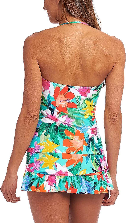 La Blanca Women's Bandeau Tankini Swimsuit Top