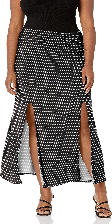 Star Vixen Women's Plus-Size Modest Midi-Lengt Knit 期間限定 2020 Pull-on Soft