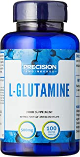 Precision Engineered 500Mg L-Glutamine 100 Tablets, 100 count