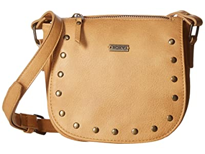 Roxy Stand As Love Faux-Leather Purse (Camel) Handbags