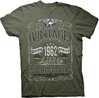 Lixinli Vintage Aged Perfection 1962 - Distressed Print - 56th Birthday Gift T-Shirt
